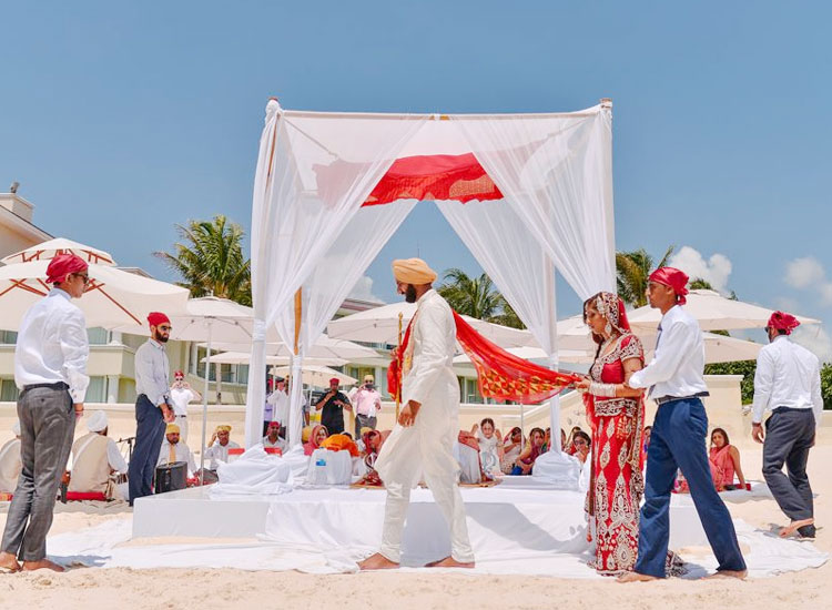 Punjabi Destination Wedding in Mauritius